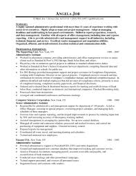 Executive Assistant Resume Template Administrative Assistant Resume Sample 100 Resum 64