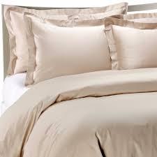 palais royale fine bed linens standard size pillow sham in a canvas color