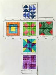 how to design a quilt on graph paper kathys angelnik designs art project ideas quilt block cube