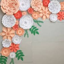 Diy Paper Flower Diy Paper Flowers Backdrop Decorative Kids Diy Toy Artificial