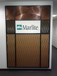 Small Picture Marlite Feature Wall with dimensional Volta and Volta Flex panels