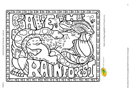 43 Rain Forest Coloring Pages Rainforest Coloring Pages Coloring