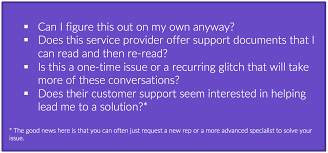 areas to consider before firing service providers ppc hero tech support questions