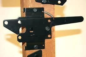 wood fence gate latch wood fence latch two sided gate latch wood fence gate hinges and