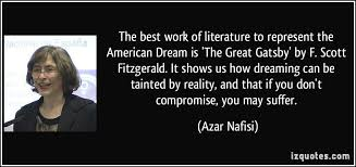 Quotes About The American Dream Interesting Great Gatsby Quotes About Dreams On QuotesTopics