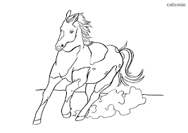 Horse coloring pages are black and white format images depicting graceful artiodactyls. Horses Coloring Pages Free Printable Horse Coloring Sheets
