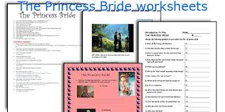 english teaching worksheets the princess bride