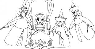 Small Picture Coloring Pages Sofia The First Dress Coloring Page Personajes