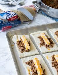Cheesy Taco Sticks Recipe School Lunches Pinterest Comida