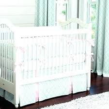 mint green and grey nursery bedding crib set pink brown baby gree pink brown cheetah print baby bedding