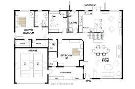 3 Bedroom Open Floor House Plans Cool Inspiration Design