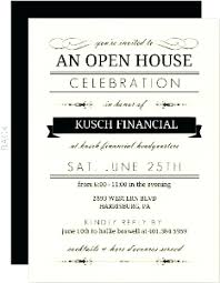 Examples Of Business Open House Invitations Corporate