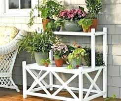 hanging plant holders outdoor stand medium size of considerable flower stands outdo hanging plant holders
