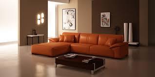 ideas burnt orange: u shaped sectional glorious l shaped sectional orange sofa living room excerpt ideas