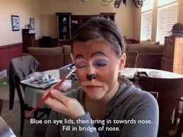 monkey makeup tutorial