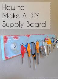 budget friendly home offices. Easy And Budget-friendly Tutorial On Creating A Supply Board. Perfect For Home Budget Friendly Offices .