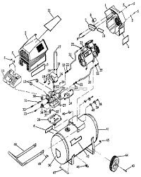 Craftsman parts master tool repair tank wire air pressor diagram full size