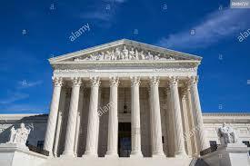 United States Supreme Court Building, Washington DC, Vereinigte Staaten von  Amerika Stockfotografie - Alamy