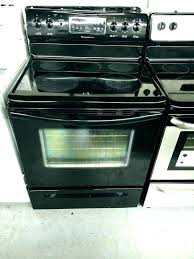 samsung glass top electric range cleaning how to clean smooth stove s