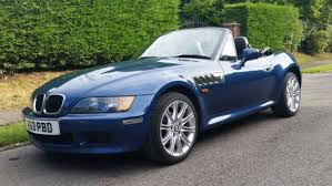 an old clic the 1999 bmw z3 1 9 8v 2 door blue