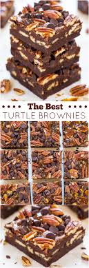 Nutella Topped Brownies The Best Turtle Brownies Averie Cooks