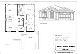 sample of house plan home design and style