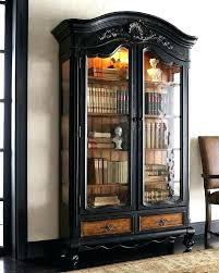small bookcase with glass doors black bookcase with drawers bookshelves bookcases