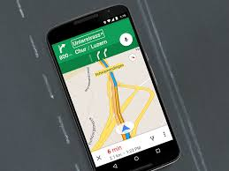 google maps update brings driving mode to devices