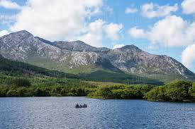 lough inagh in the connemara national