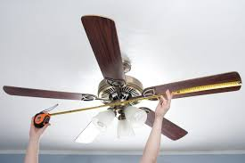 how are ceiling fans measured sizing