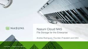 Nasuni Cloud Nas