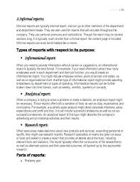 Memo Report Example Short Report Sample Template Woodnartstudio Co