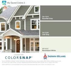 Sherwin Williams Paint Chart Exterior Best Exterior Gray Paint Colors Sherwin Williams