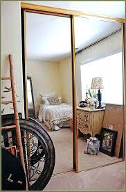 closet doors ideas mirror door makeover home design pertaining to mirrored idea 6 designs sliding d