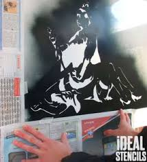 Stenciling Spray Paint Spray Paint Your Stencils How To Stencil Tutorial Ideal Stencils