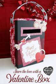 spread a little love and a lot of fun with this easy valentine s diy using a simple box you can create a mailbox for handmade cards and sweet treats