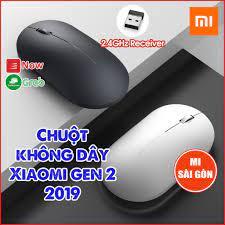 Chuột không dây Xiaomi gen 2 2019 - Chuột Xiaomi không dây wireless  Portable Mouse giá cạnh tranh