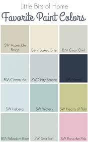 watery paint colorFavorite Paint Colors