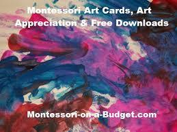 Free Downloads Montessori Art Cards Art Appreciation