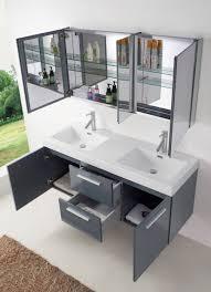 54 Bathroom Vanity Cabinet 54 Virtu Midori Jd 50154 Gr Double Sink Bathroom Vanity Grey