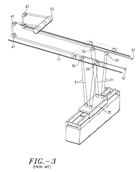 patent us integrated balanced wire rope reeving system patent drawing