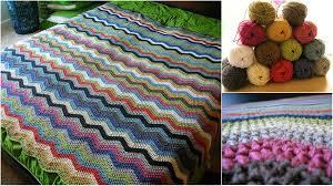 Easy Ripple Afghan Patterns Cool Decoration