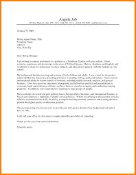 9 Sample Cover Letters Teachers Job Apply Letter