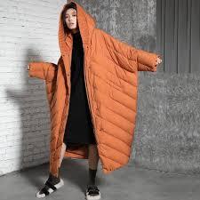 2017 Winter Women Fashion Loose Long Down Jacket Women's Quilted ... & 2017 Winter Women Fashion Loose Long Down Jacket Women's Quilted Down Coat  Winter Warm Down Parkas Adamdwight.com