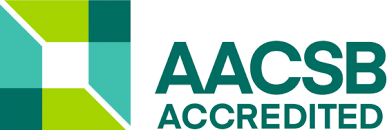 goodman logo. aacsb accreditation logo goodman