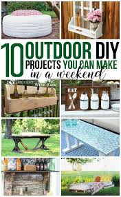 diy outdoor projects. Plain Projects These Outdoor Projects Will Add Tons Of Interest To Your Yard And Can All  Be Made Throughout Diy Outdoor Projects