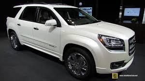 2015 gmc acadia interior. 2014 gmc acadia denali exterior and interior walkaround chicago auto show youtube 2015 gmc