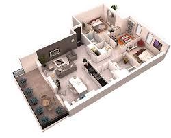 6 3d floor plans house design plan customized home plan 3d