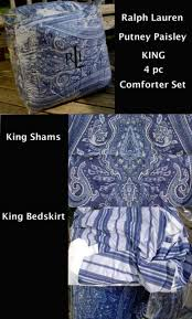 33 marvelous idea ralph lauren navy paisley bedding sensational image ideas blue putney king comforter 4pc set