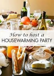 Hosting a Housewarming Party